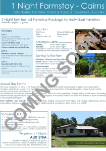 Cairns_2-Night-Farmstay-FIT